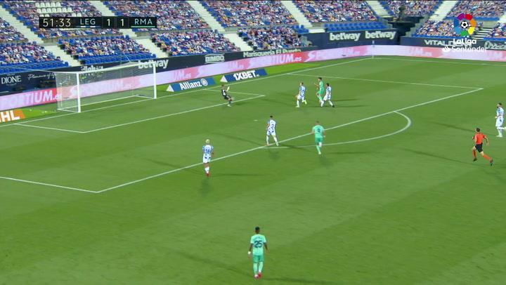 Gol de Asensio (1-2) en el Leganés 2-2 Real Madrid