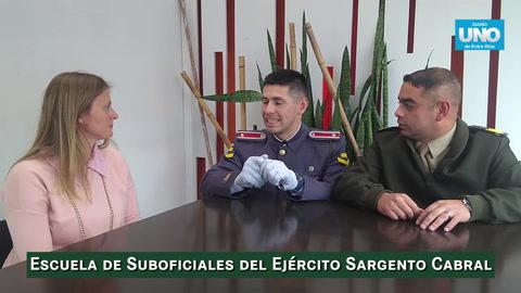 Promocionan en Paraná las carreras de la escuela de Suboficiales del Ejército