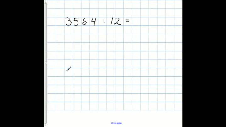 Matte: Hvordan få til divisjon med flersifrede tall