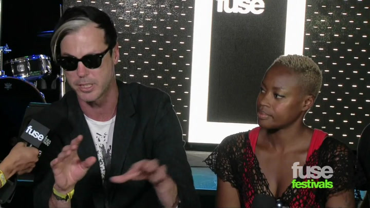 Fitz And The Tantrums On New Album (Bonnaroo 2012)