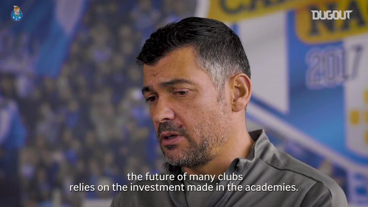 Sérgio Conceição praises FC Porto's academy setup