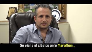 Elías Burbara confia que Real España sacará el triunfo ante Marathón en el repechaje