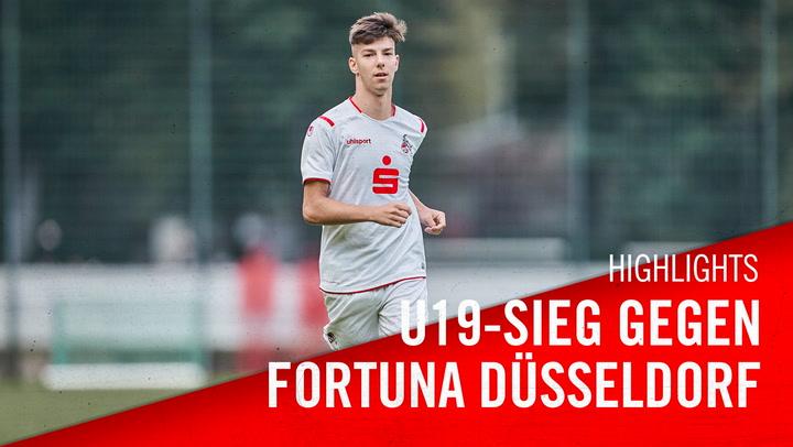 U19-Sieg gegen Fortuna Düsseldorf