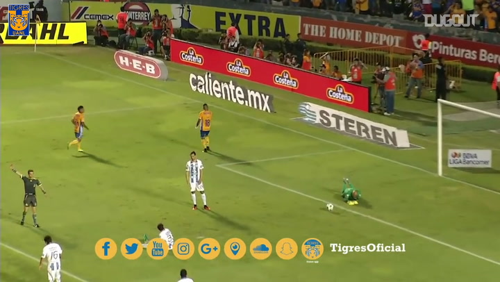Gignac and Sosa link up for a superb team goal