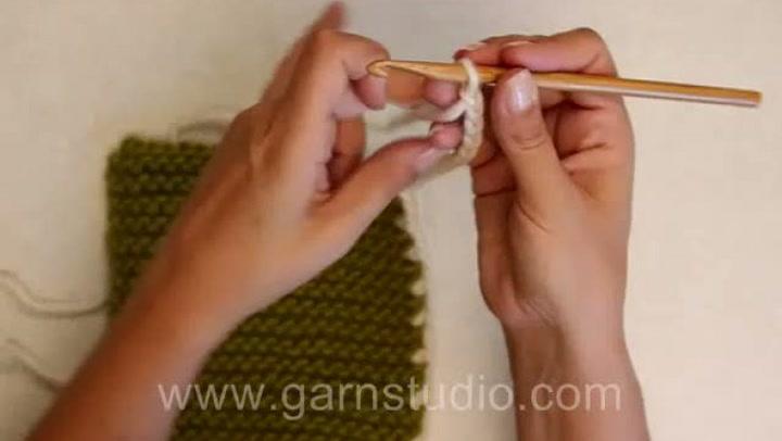 Hvordan hekle knytebånd