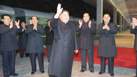 Kim Jong Un llega a Rusia para su cumbre con Vladimir Putin