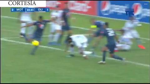 Doblete de Pereira y Motagua le da vuelta al marcador