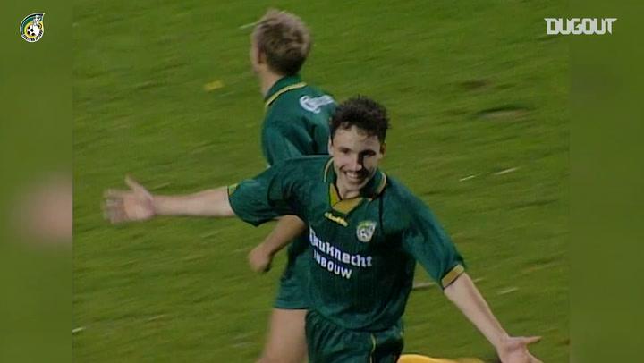 Mark van Bommel scores from acute angle vs Sparta Rotterdam