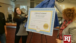 Certificates for renewing wedding vows in Clark County