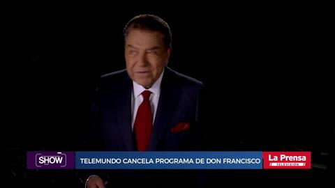 Show, resumen del 26-7-2018. Telemundo cancela programa de Don Francisco