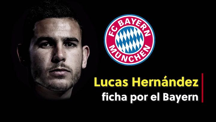 Lucas Hernández fichó por el Bayern en 2019