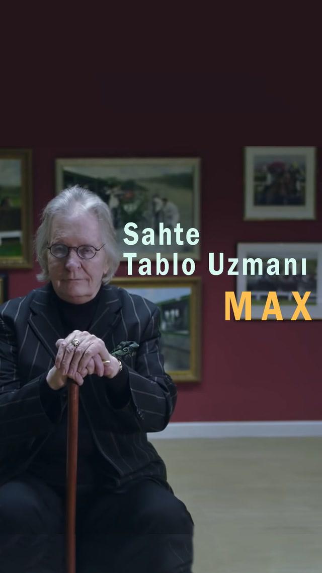 Sahte tablo uzmanı Max