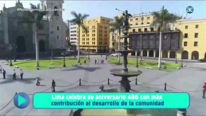 Aniversario de Lima: celebra con más de 80 actividades virtuales y presenciales