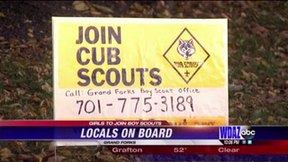 Local families express interest in signing daughters up for Boy Scouts