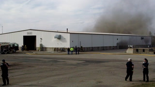 Firefighters respond to Ellsworth county garage fire call