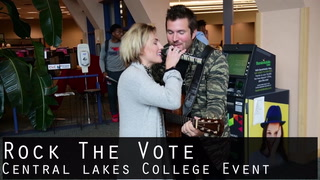 Rock The Vote Central Lakes College Event