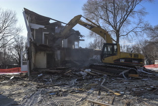James House Demolishing