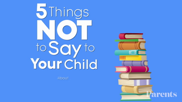 5 Things NOT to Say to Your Child About Homework