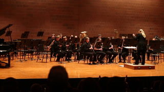 Morris Area eighth grade band performs