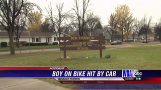 Boy on bike 5th hit by vehicle in Grand Forks since July