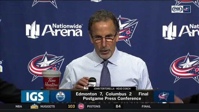 Torts makes quick work of postgame presser, answers no questions on 7-2 loss