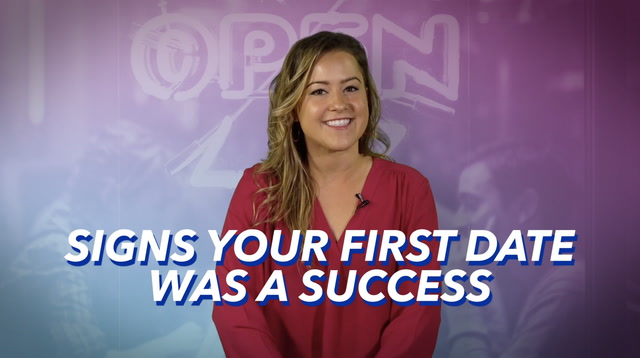First Date Success Signs - Danielle Page