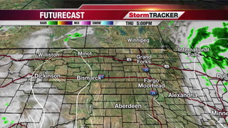 Isolated Showers/T-Storms for Friday