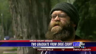 Friends graduate from drug court