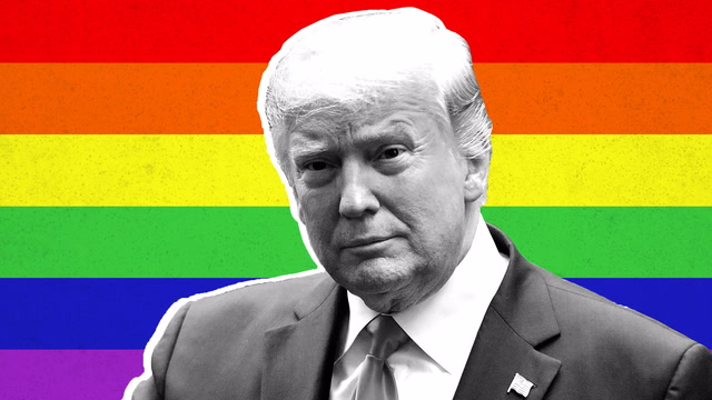 Opinion | Trump says he supports LGBTQ Americans. His record says otherwise.