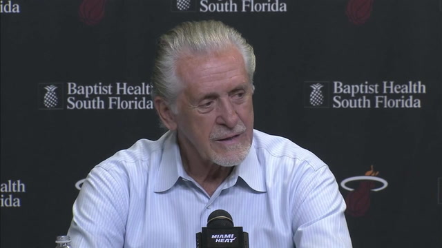 Miami Heat president Pat Riley press conference -- part 2