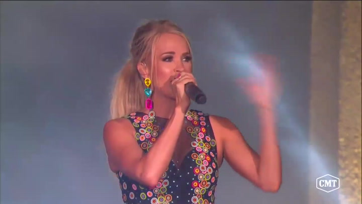 Carrie Underwood Was Gifted a Cheese Sculpture of Herself While on Tour: 'I'm Speechless!'