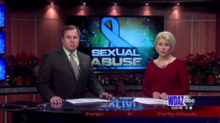 Victim in alleged sex abuse cover-up releases proof