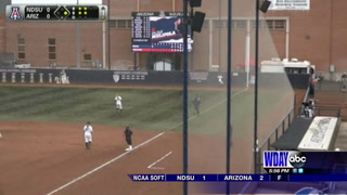 Arizona tops NDSU in softball