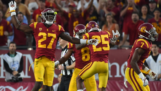 USC outlasts Texas 27-24 in 2 OT in epic National Championship rematch