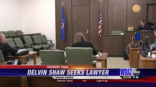 Delvin Shaw will not represent himself during murder retrial