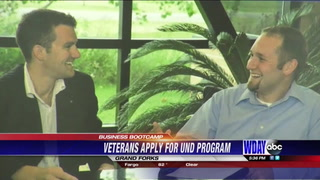 Vets apply for UND Business Bootcamp