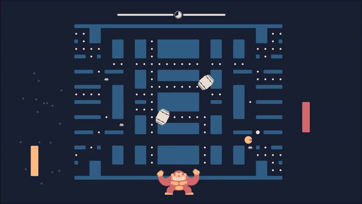 This Insane Video Game Puts Pac-Man, Pong, and Space Invaders In A Blender