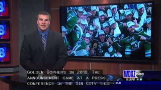 UND Hockey will play in Las Vegas in 2018