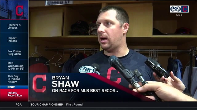 Indians hungry to earn home field advantage & best overall record in MLB