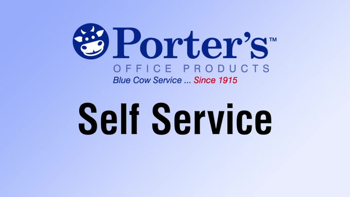 Self Service is full service. Shop.PortersOP.com