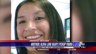 Olivia Lone Bear, a 32-year-old mother of five, was last seen leaving a New Town saloon on Oct. 24, 2017  Submitted photo