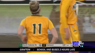 Bison women blown out by Oakland