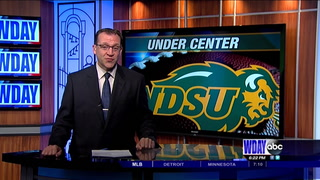 Tanner Volson to start at center for the Bison
