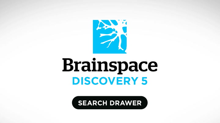 Discovery Search Drawer: Text filters find results
