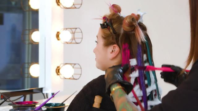 How to Get the Unicorn Hair Trend