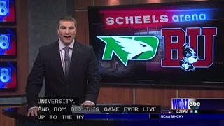 UND falls in a heartbreaker to Boston University