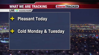 "Tracking a Breezy & ""Mild"" Afternoon"