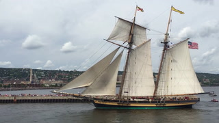 Sailing with the Pride of Baltimore II