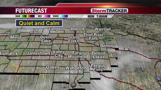 Quiet Week with a Few Chances of Snow