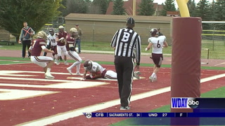 No. 19-ranked Cobbers power their way to home victory against Augsburg
